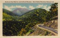 Newfound Gap Highway and Bullhead Mountain Great Smoky Mountains National Park.