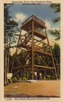Observation Tower atop Clingman's Dome, Elevation 8642 feet, Great Smoky Mountains National Park