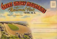 Great Smoky Mountains National Park, Tenn. N.C., Parking Area at Clingman's Dome