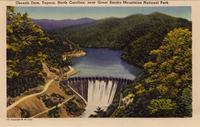 Cheoah Dam, Tapoco, North Carolina, near the Great Smoky Mountains National Park