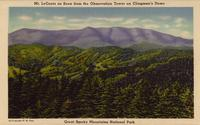 Mt. LeConte as Seen from the Observation Tower on Clingman's Dome, Great Smoky Mountains National Park