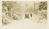 John W. Oliver Driving Charles Myers Along Mail Route