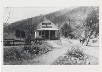 Ogle's Store and Post Office 1923. River road to right. Looking from Pi-Phi School