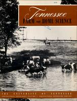 Tennessee farm and home science, progress report 3, July - September 1952