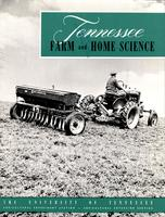 Tennessee farm and home science, progress report 17, January - March 1956