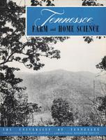 Tennessee farm and home science, progress report 8, October - December 1953