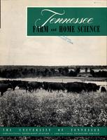 Tennessee farm and home science, progress report 5, January - March 1953