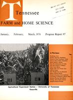 Tennessee farm and home science, progress report 97, January - March 1976