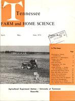 Tennessee farm and home science, progress report 90, April - June 1974