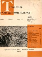 Tennessee farm and home science, progress report 89, January - March 1974
