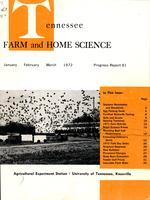 Tennessee farm and home science, progress report 81, January - March 1972