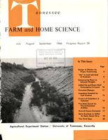 Tennessee farm and home science, progress report 59, July - September 1966
