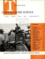 Tennessee farm and home science, progress report 57, January - March 1966