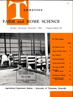 Tennessee farm and home science, progress report 52, October - December 1964