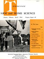 Tennessee farm and home science, progress report 49, January - March 1964