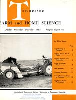 Tennessee farm and home science, progress report 48, October - December 1963