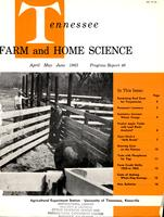 Tennessee farm and home science, progress report 46, April - June 1963