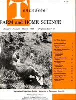 Tennessee farm and home science, progress report 45, January - March 1963