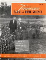 Tennessee farm and home science, progress report 38, April - June 1961