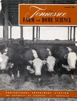 Tennessee farm and home science, progress report 35, July - September 1960