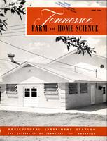 Tennessee farm and home science, progress report 34, April - June 1960