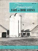 Tennessee farm and home science, progress report 33, January - March 1960