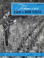 Tennessee farm and home science, progress report 32, October - December 1959