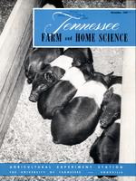 Tennessee farm and home science, progress report 24, October - December 1957