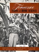 Tennessee farm and home science, progress report 23, July - September 1957