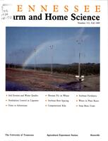 Tennessee farm and home science, progress report 152, October - December 1989