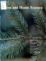 Tennessee farm and home science, progress report 151, July - September 1989