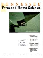 Tennessee farm and home science, progress report 145, January - March 1988