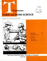 Tennessee farm and home science, progress report 130, April - June 1984