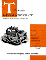 Tennessee farm and home science, progress report 128, October - December 1983