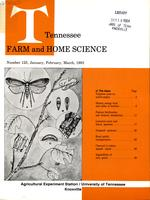 Tennessee farm and home science, progress report 125, January - March 1983