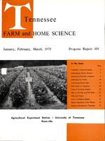 Tennessee farm and home science, progress report 109, January - March 1979