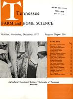 Tennessee farm and home science, progress report 104, October - December 1977