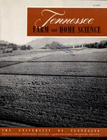 Tennessee farm and home science, progress report 15, July - September 1955