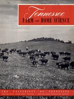 Tennessee farm and home science, progress report 10, April - June 1954