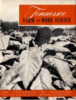 Tennessee farm and home science, progress report 6, April - June 1953