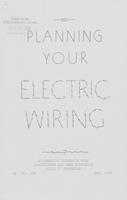 Planning your electric wiring