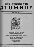 Tennessee Alumnus. Volume 21, Issue 4, 1941 August