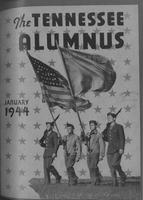 Tennessee Alumnus. Volume 24, Issue 2, 1944 January