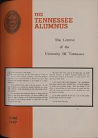 Tennessee Alumnus. Volume 27, Issue 5, 1947 June