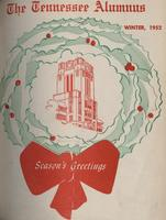 Tennessee Alumnus. Volume 33, Issue 3, 1952 Winter