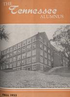 Tennessee Alumnus. Volume 34, Issue 3, 1953 Fall