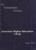 Tennessee Alumnus. Volume 38, Issue 1, 1958 Spring