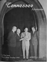 Tennessee Alumnus. Volume 39, Issue 1, 1959 Spring