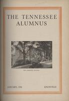 Tennessee Alumnus. Volume 13, Issue 10, 1931 January