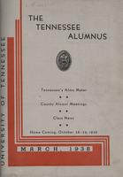Tennessee Alumnus. Volume 18, Issue 1, 1938 March